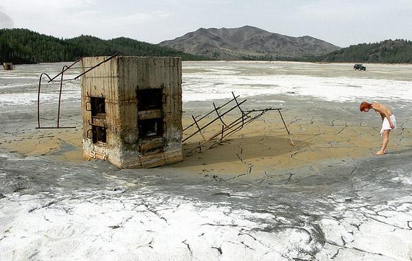 Хвостохранилище в карабаше