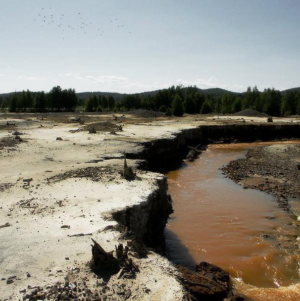 мертвая река в карабаше