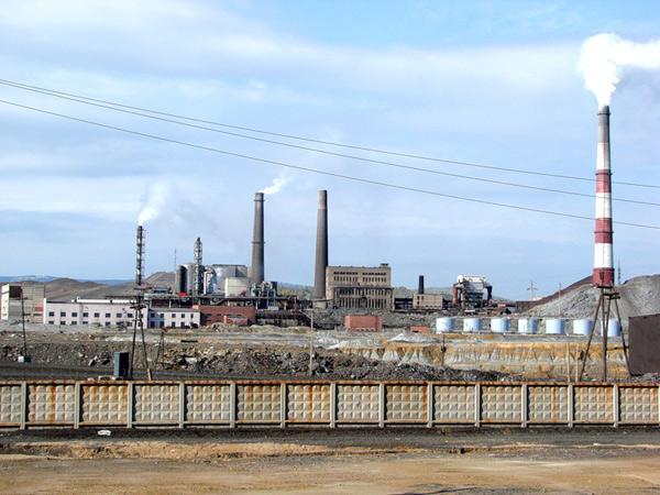 завод в карабаше