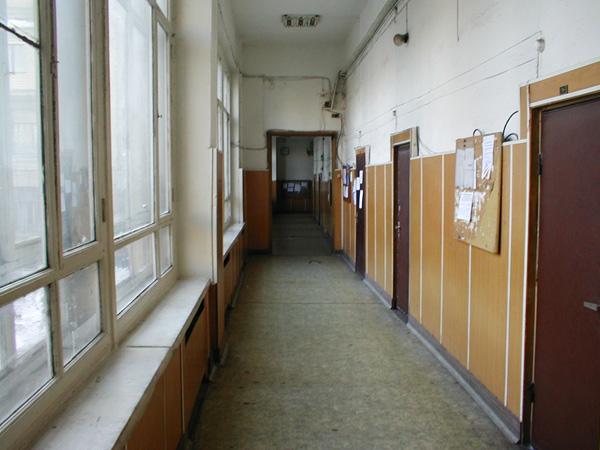 коридор в РХТУ