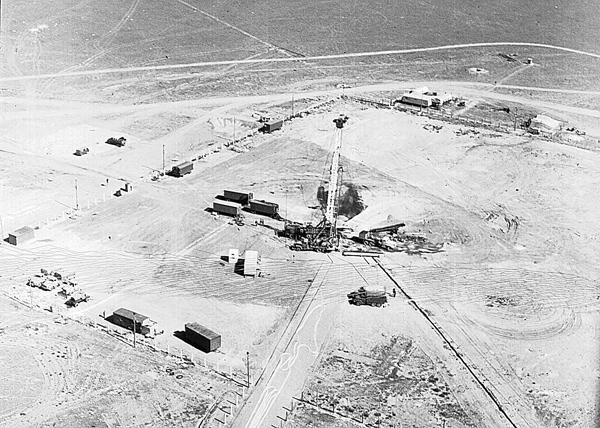 Создание подземных хранилищ с помощью ядерных взрывов